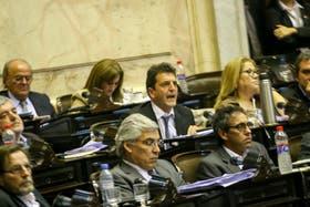 Sergio Massa cuestionó la actitud de los diputados oficialistas que no dieron quórum en la sesión