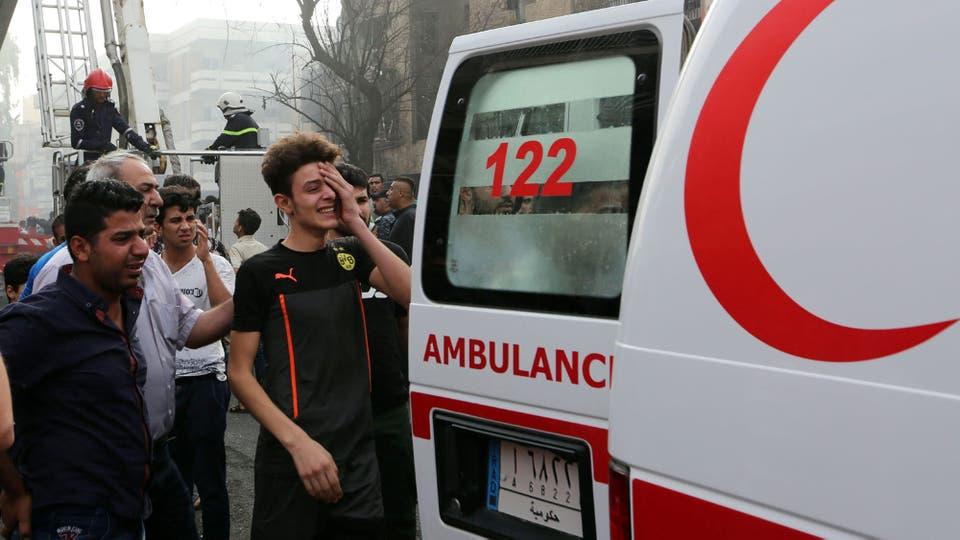 Hay al menos 300 personas heridas. Foto: EFE
