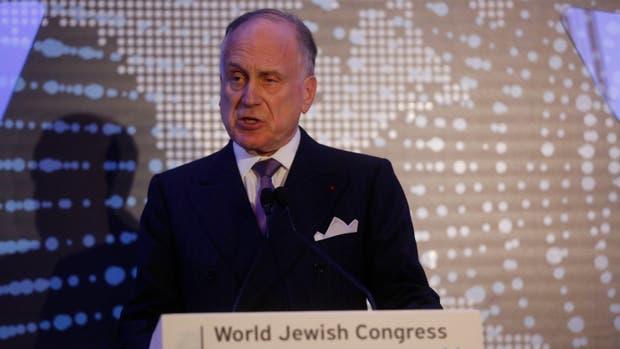 Ronald Lauder, presidente del Congreso Judío Mundial
