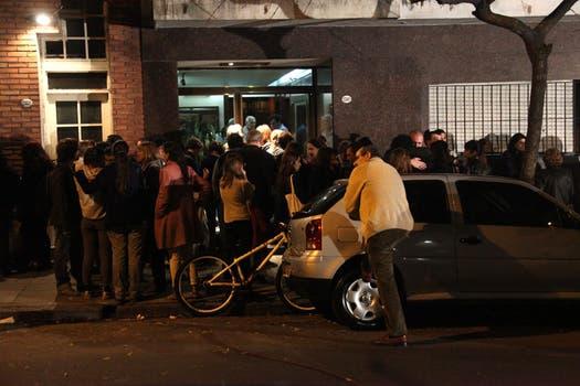 El edificio donde vivia Angeles Rawson. Foto: LA NACION / Matias Aimar