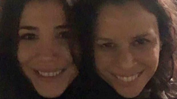 Andrea Rincón y Julieta Ortega, grandes amigas