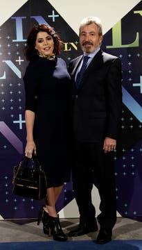 Pamela David y Daniel Vila. Foto: LA NACION