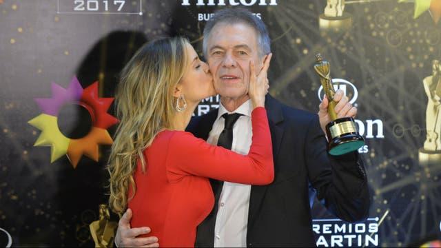 Paula Cancio, orgullosa de su amor, Miguel Ángel Solá