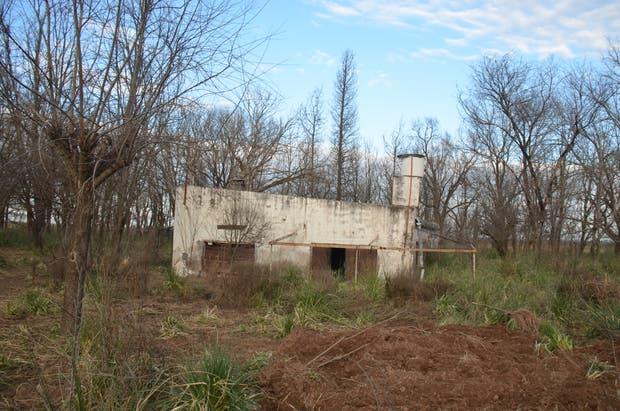 Una casa que se hunde como en arenas movedizas