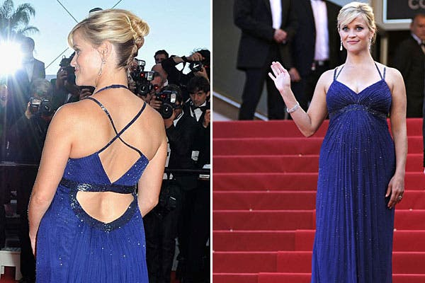 ¿Te gusta la espalda del vestido de Reese Witherspoon?. Foto: Celebritieswonder.net