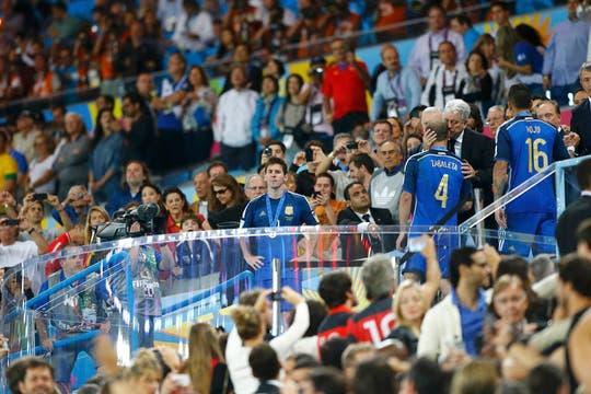 Alemania se coronó campeón de la Copa del Mundo. Foto: Reuters