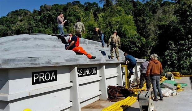 El embarque de marihuana tenía como destino el puerto de Rosario