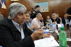Moyano renovó sus críticas al Gobierno