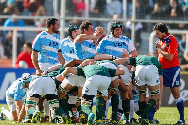 Los Pumas perdieron ante Sudáfrica el fin de semana pasado, en Mendoza