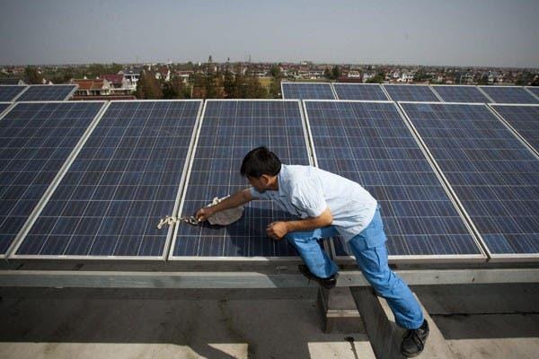 Paneles solares en España