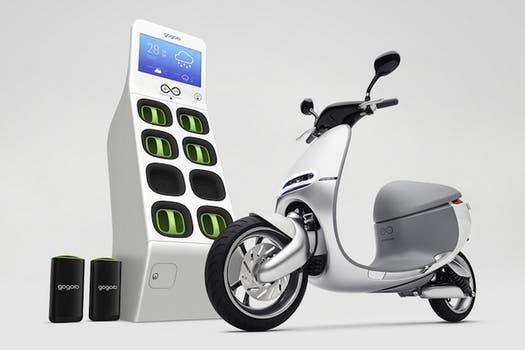 Este scooter funciona con un sistema de baterías intercambiables.