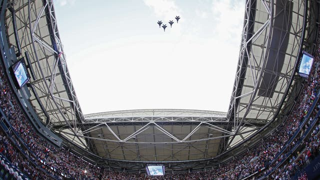 En imagenes, ceremonia, personajes, jugadas y los detalles del ultimo Grand Slam del año y un Nadal campeón. Foto: AFP