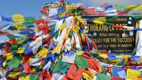 Thorong La, a 5416 metros, el punto más alto de esta aventura