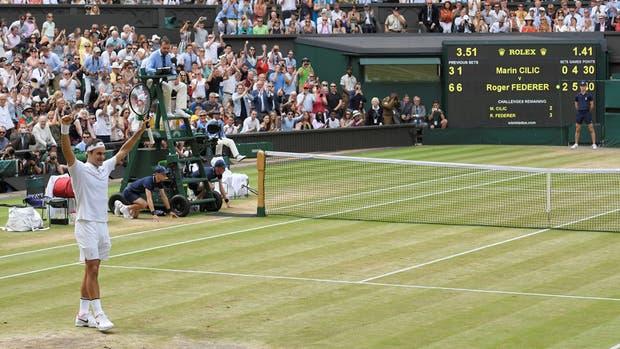 Federer no deja de crecer
