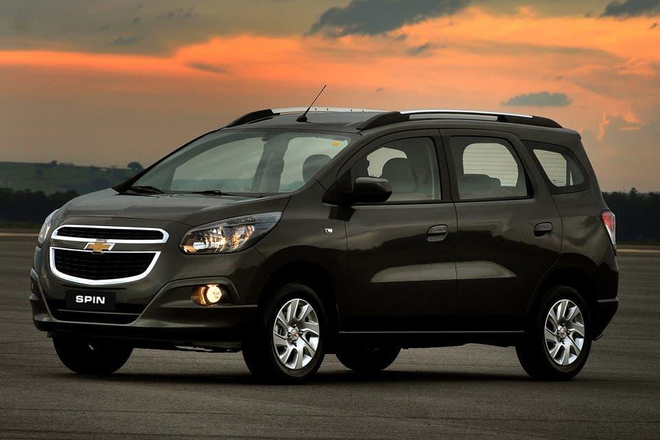 Chevrolet Spin El Nuevo Monovolumen Compacto De Gm La Nacion