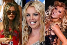 Victoria Beckham, Britney Spears y Christina Aguilera, entre otras famosas, recurren a las extensiones para verse más lindas