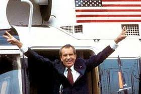 Richard Nixon fue el único mandatario norteamericano que debió renunciar a la presidencia