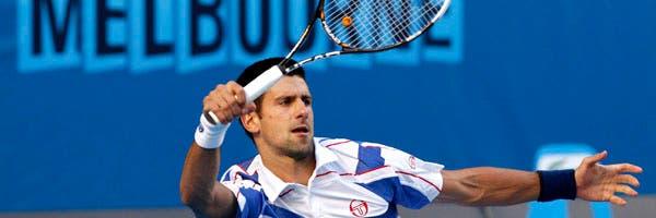 El esfuerzo de Djokovic