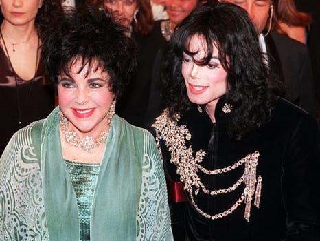 La actriz, en el día de su cumpleaños, el 16 de febrero de 1998, en un recital de su amigo Michael Jackson.. Foto: Archivo