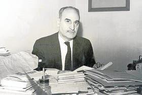 Ayala en 1962, durante una de sus visitas a Buenos Aires