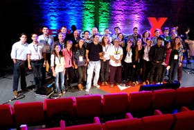 Los participantes del TEDx Tenaris