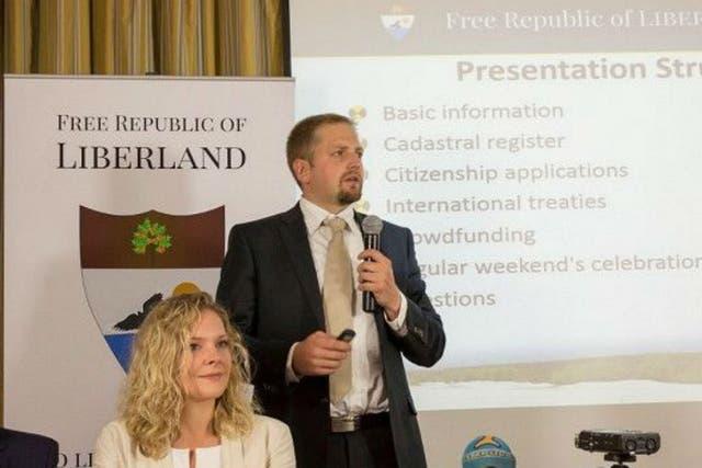 El hombre que fund liberland un pa s en tierra de nadie en el centro europa la - Fundar un partido politico ...