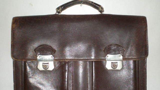 Las mochilas no existían, los útiles se llevaban en el portafolio