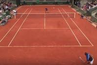 Los mejores puntos del día en Roland Garros