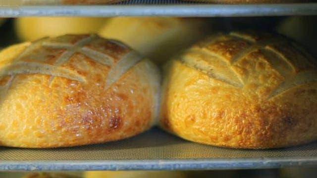 Pan horneándose... ya casi está listo.