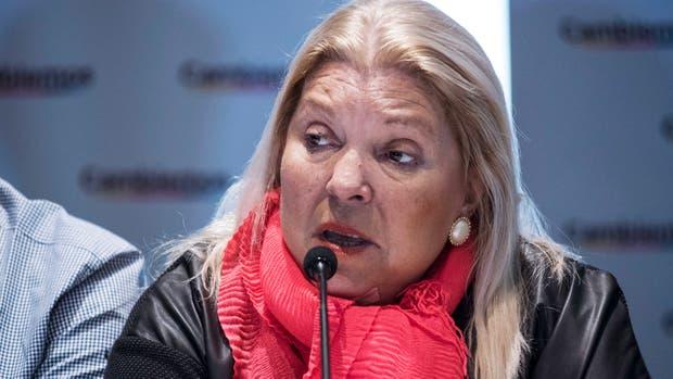 Elisa Carrió dijo que teme que la envenenen