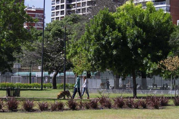 El Parque Las Heras cuenta con una nueva traza de senderos