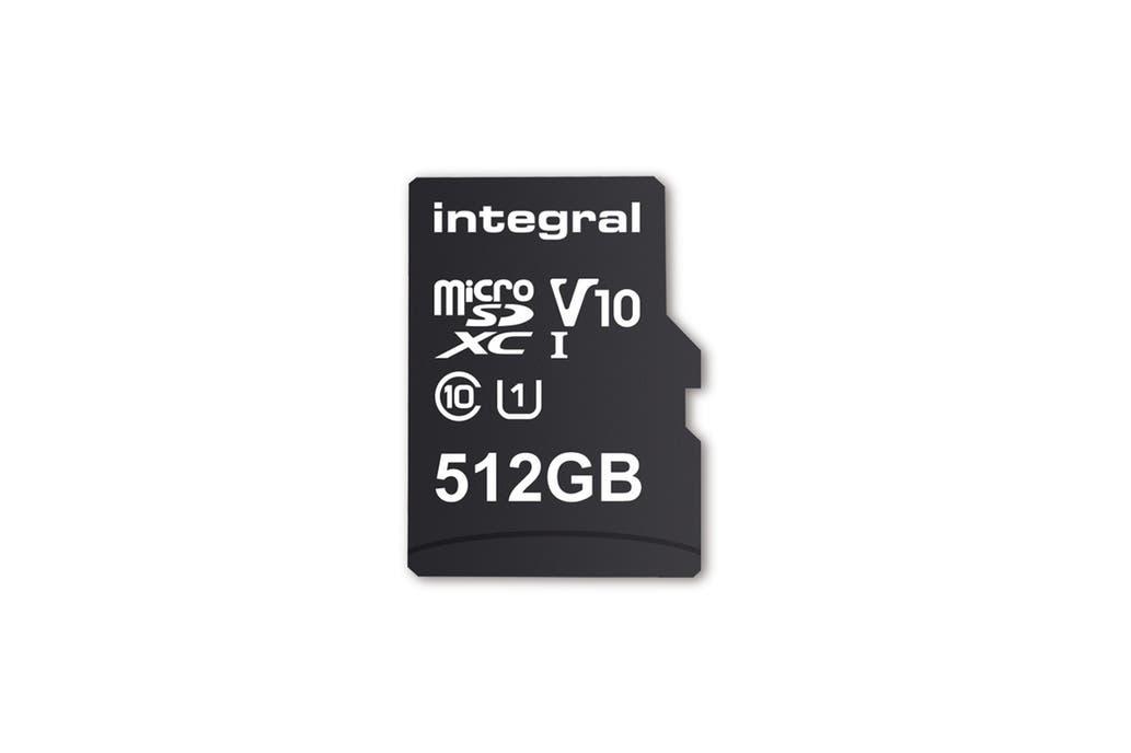 Llega la primera tarjeta MicroSD de 512GB