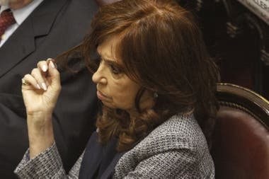 The national senator Cristina Kirchner, involved in the biggest corruption scandal in the country