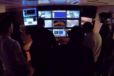 El análisis de las imágenes en el Seabed Constructor desde donde se hizo la búsqueda del ARA San Juan