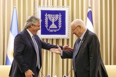 Fernández, con Netanyahu en Israel: El compromiso por AMIA es inarterable
