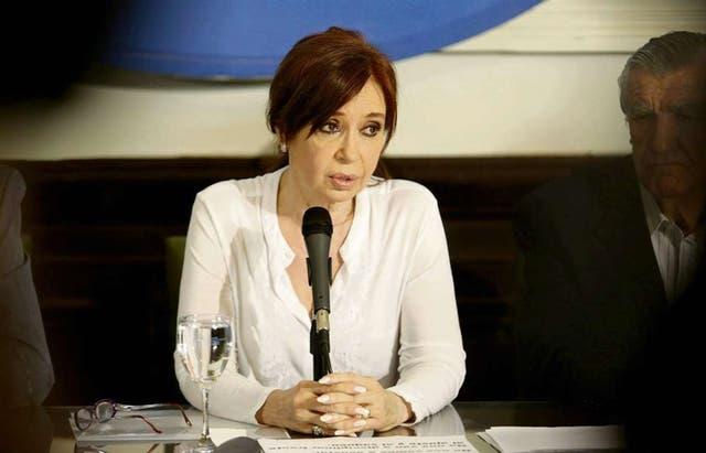 CFK integrará el bloque Frente para la Victoria-PJ — Senado