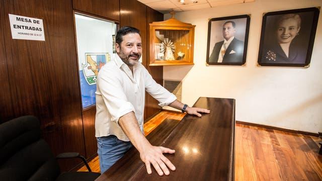 Menéndez, presidente del PJ bonaerense: