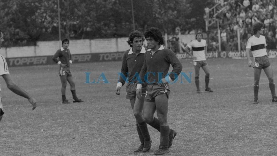29-4-1979: triunfo por 3 a 0 ante Gimnasia en La Paternal.. Foto: LA NACION