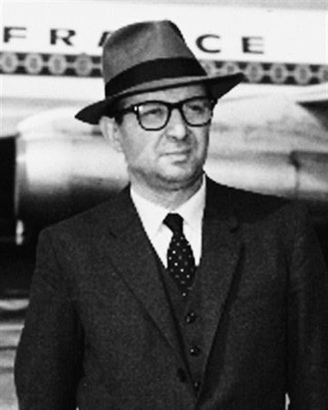 Antonio Berni en 1964