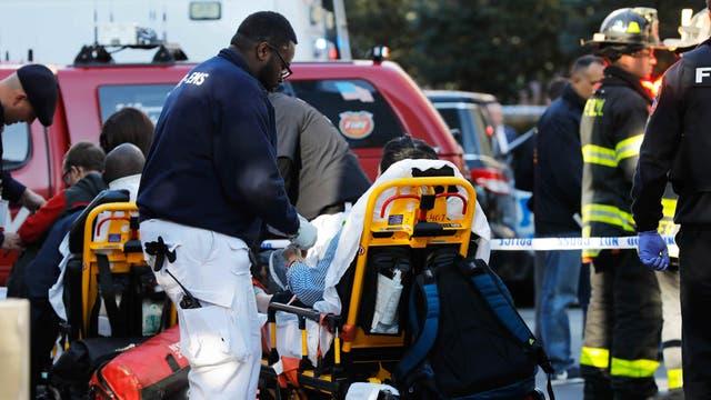 Alarma en Manhattan por un automovilista que atropelló a varias personas. Foto: Shannon Stapleton