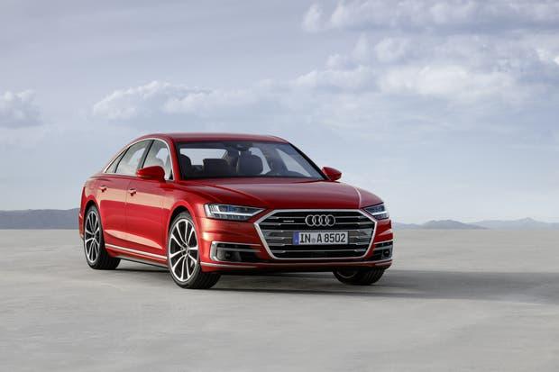 Diseño elegante pero a la vez deportivo para el Audi A8
