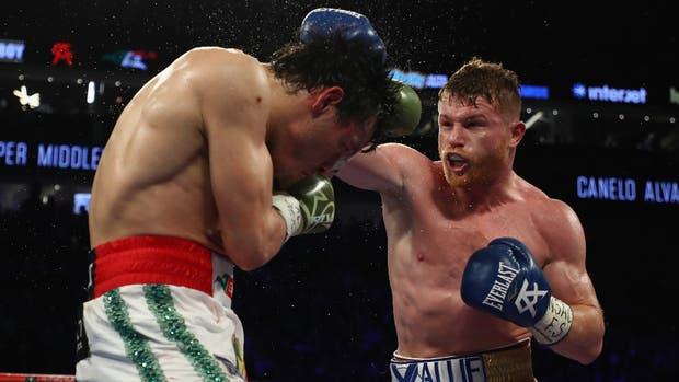 Los tres jueces de la pelea dieron como ganador al jalisciense Álvarez por 120-108 y alcanza ahora una marca de 49-1-1