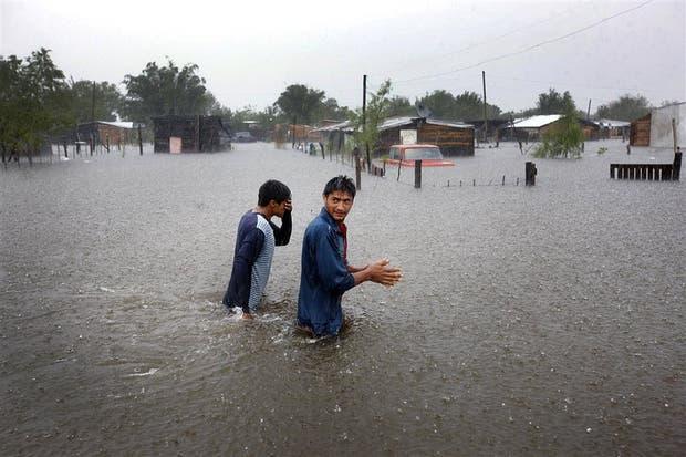 Se estima que el cambio climático eleva la frecuencia de fenómenos como las inundaciones