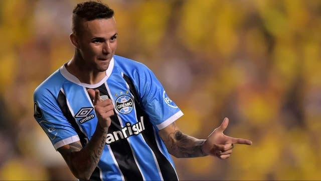 Imparable: Luan anotó dos goles para la contundente victoria de Gremio en Guayaquil