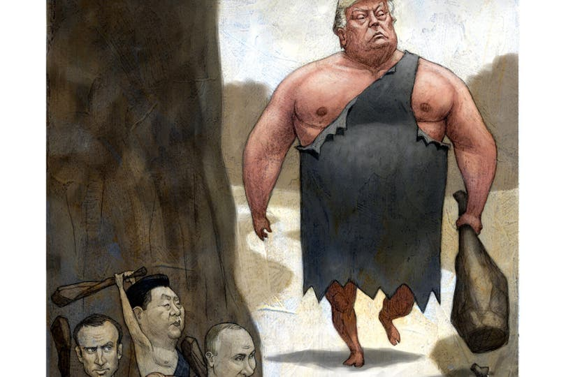 Putin, Merkel, Macron y Xi desarrollan una agenda global ambiciosa para sumar poder ante los traspiés del magnate