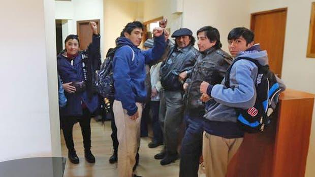 Caso Santiago Maldonado: mapuches ocupan el juzgado de Esquel