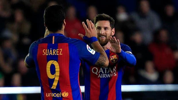 Suárez y Messi, explosivos