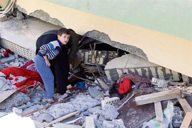 Una de las zonas más afectadas fue Darbandikhan, en el Kurdistán iraquí