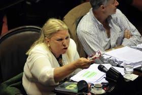 Elisa Carrió (CC) intentará conservar su escaño