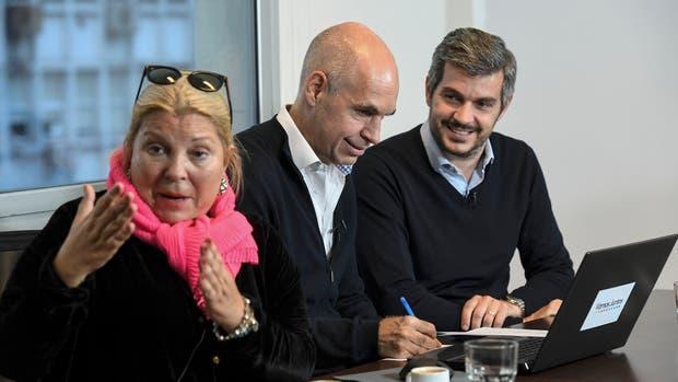 Que dejó el cierre de campaña de Macri y Carrió